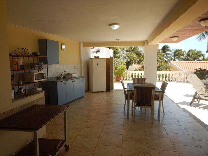 Cozinha do apartamento A