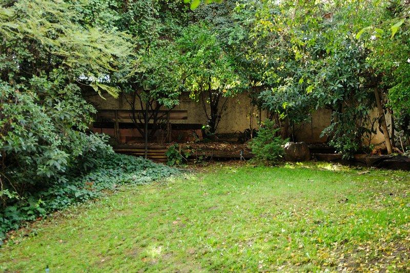 Patio et jardin privé / cour et jardin privé