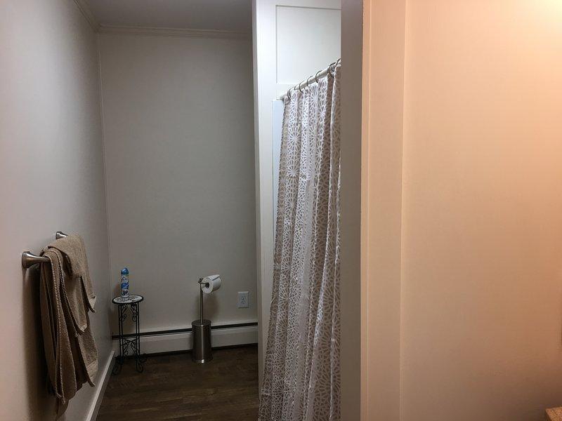 casa de banho completa com banheira / chuveiro