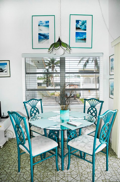 The pretty dining area.