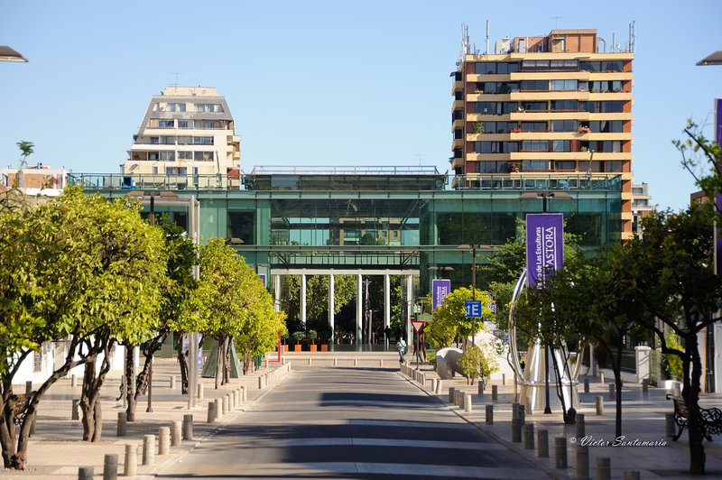 Barrio Las Condes Centre culturel / quartier, Las Condes Cultural Center