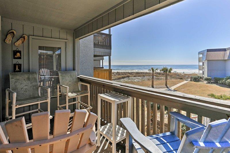 Disfrutar de vistas de la costa de este condominio alquiler de vacaciones en Myrtle Beach!