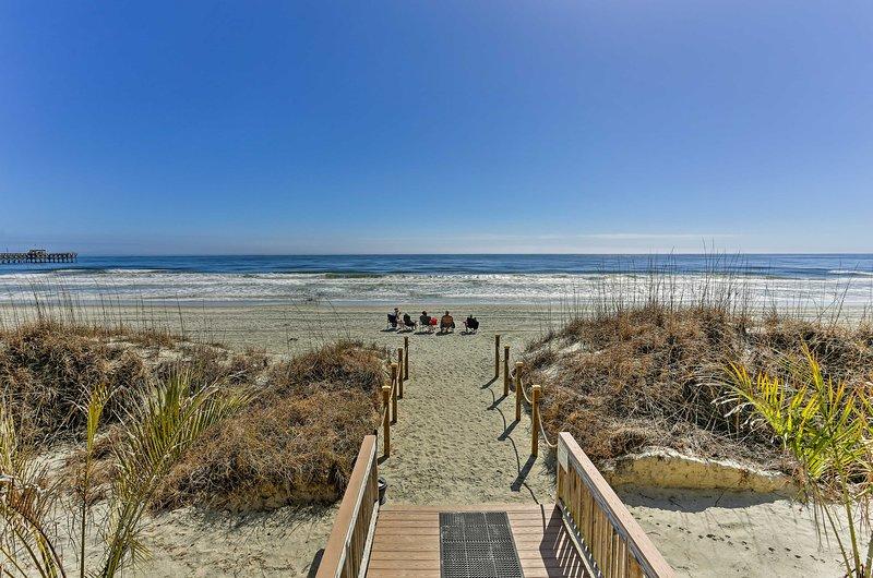 Enamórate con el Atlántico mientras disfruta de lo mejor de Myrtle Beach!