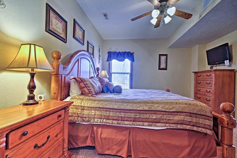 Toutes les chambres dotées d'une décoration élégante et un mobilier haut de gamme.