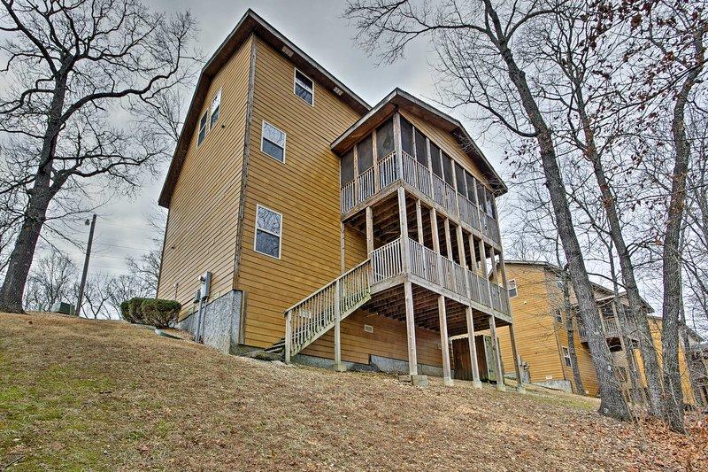 Vous aurez envie de revenir à cette maison année 3.800 pieds carrés après année.