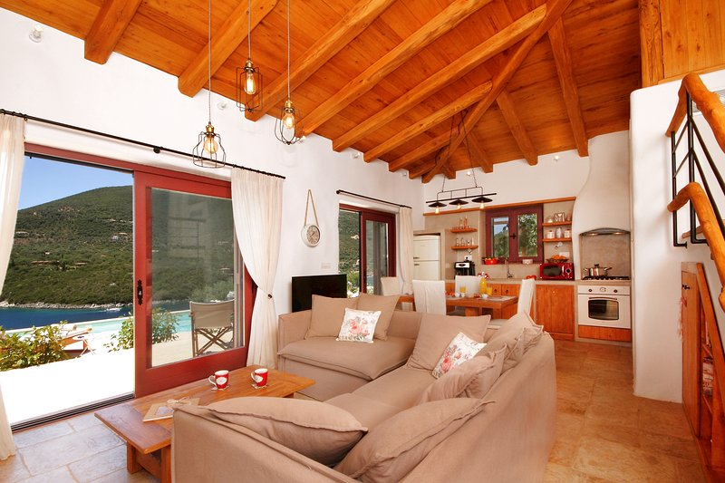 Winter Special Offer - Covid safe stay & Work - Amapola Villas - Agapi & Phos, location de vacances à Sivota