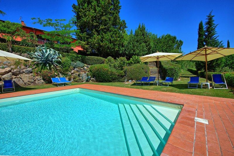 Gorgognano Apartment Sleeps 4 with Pool and WiFi - 5241165, alquiler de vacaciones en Montespertoli