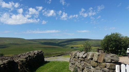 Unparalleled views over Arkengarthdale