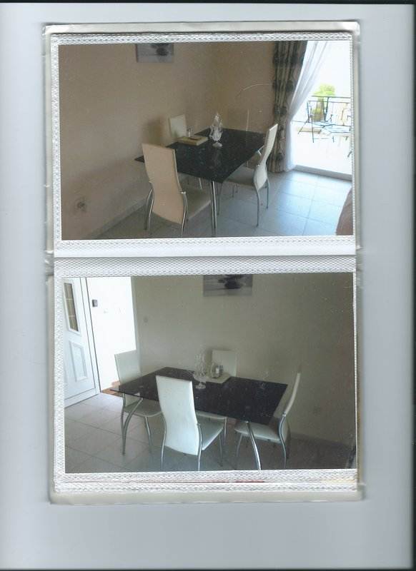 dinning area with fan fitted