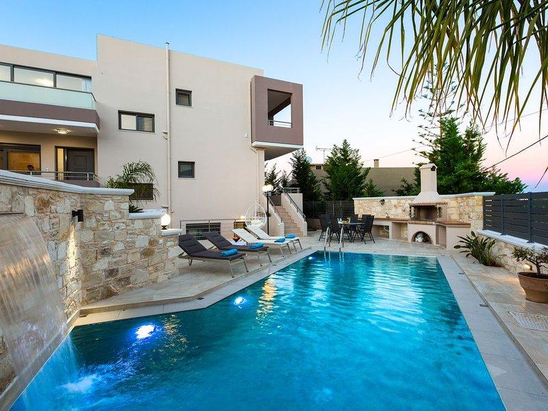 Joy Luxury Villa, Daratso Chania, holiday rental in Daratsos