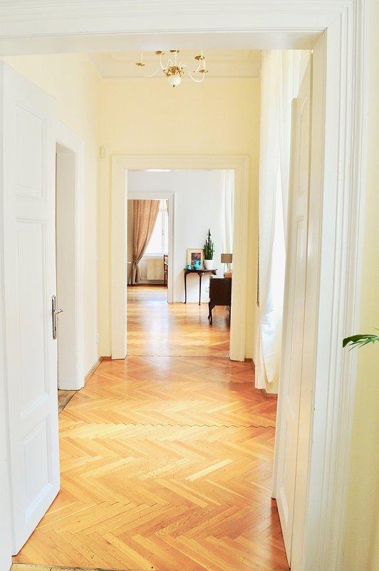 Extrêmement spacieuse / grande offre Appartement 5 fois plus grande taille à la chambre d'Hôtel.