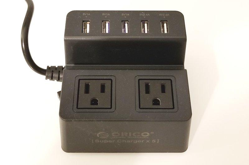 USB oplaadstation, zodat je niet hoeft te een stopcontact adapter brengen
