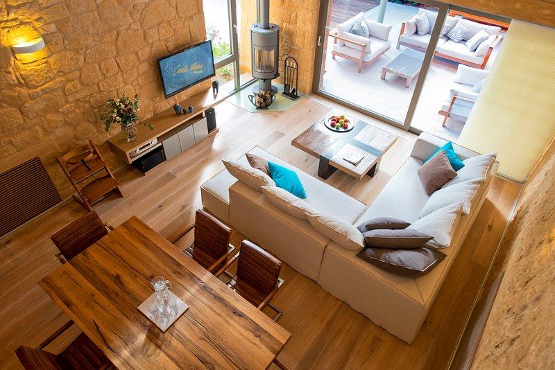 Kontomari Villa Sleeps 8 with Pool and Air Con - 5579574, alquiler vacacional en Kontomari