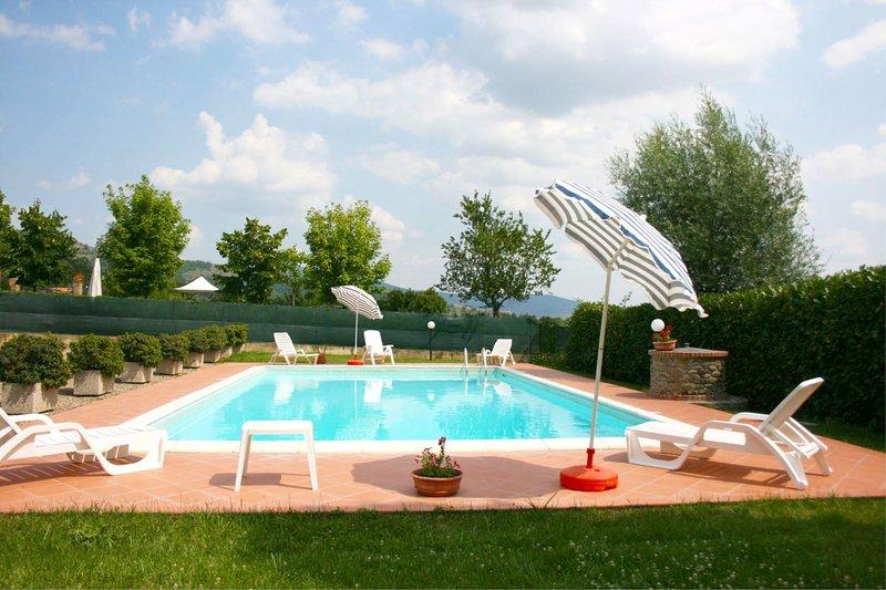 Fondaccio Villa Sleeps 6 with Pool - 5490402, holiday rental in Vitiano