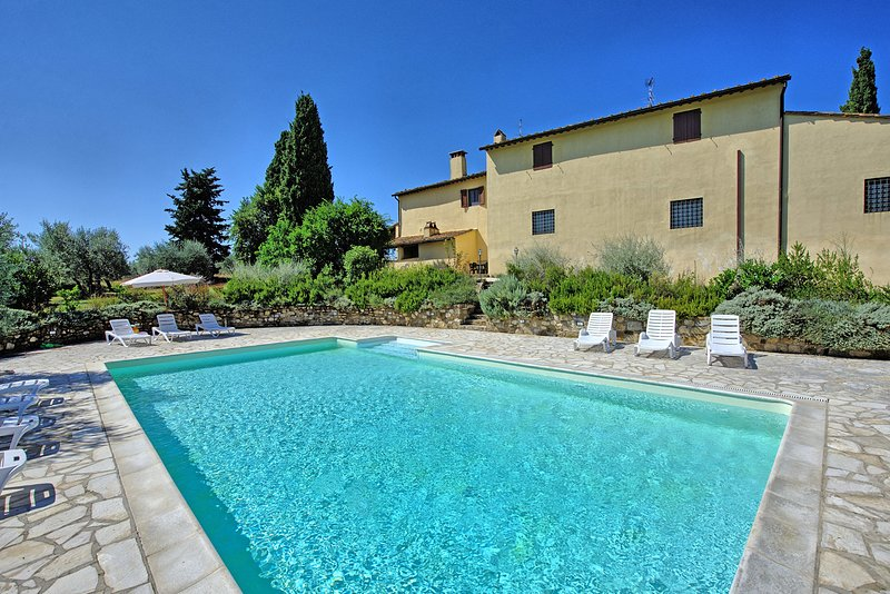 Calcinaia Apartment Sleeps 6 with Pool and WiFi - 5241207, holiday rental in Calcinaia