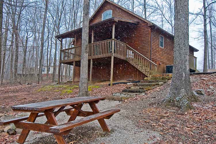 Cabin Ten Deluxe jacuzzi, vacation rental in Taswell