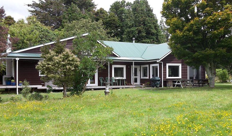 Forest Home is located in rural Wairarapa just off SH2 near Pukaha Mount Bruce and close to Tararua
