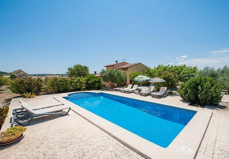 Villa Vernissa, Ferienwohnung in Santa Margalida