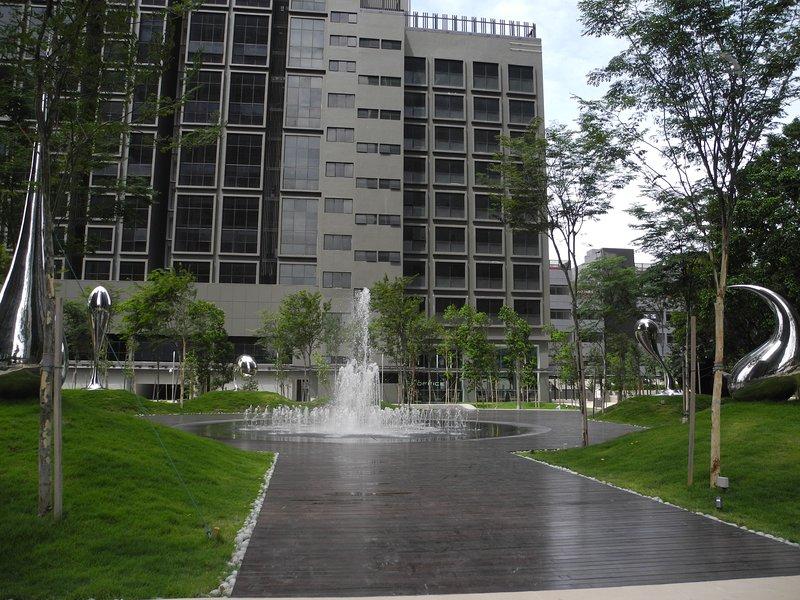 common garden space