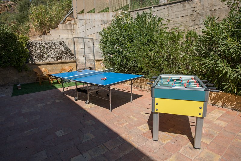 Zone de ping-pong Baby-foot