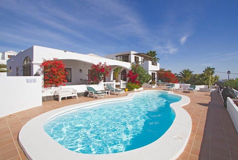 CASTILLO DUNE   A  VERY LUXURIOUS EXCLUSIVE PRIVATE VILLA, holiday rental in La Geria
