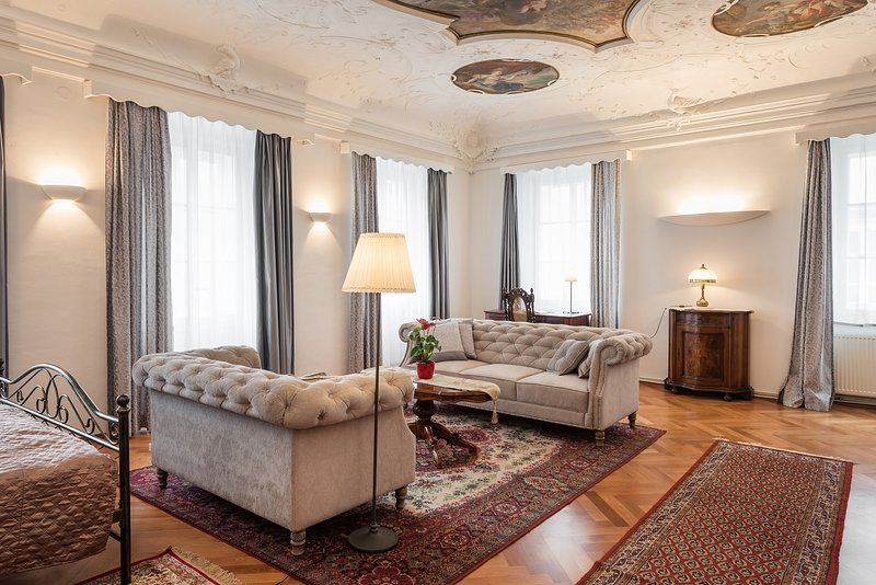 Codelli residence-sleep under baroque paintings!, holiday rental in Ljubljana
