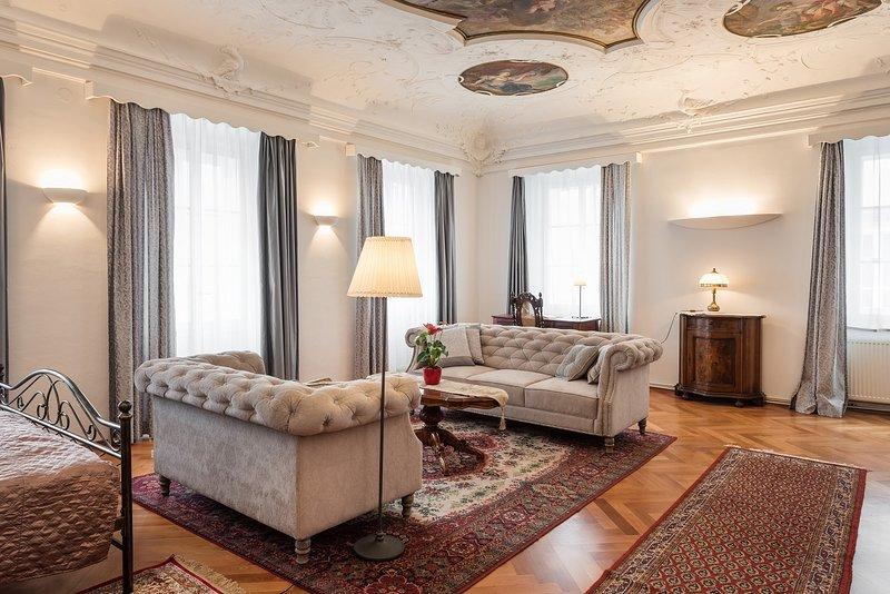 Codelli residence-sleep under baroque paintings!, vacation rental in Ljubljana