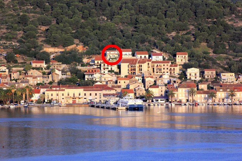 Two bedroom apartment Vis (A-8883-a), holiday rental in Vis