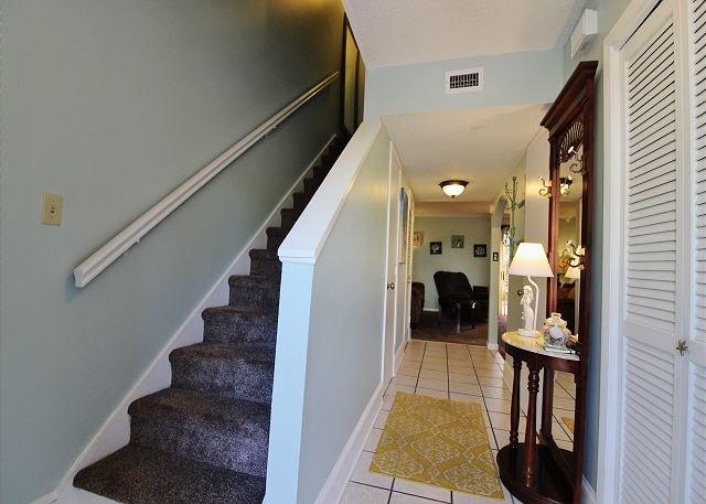 Treppen bis Schlafzimmer