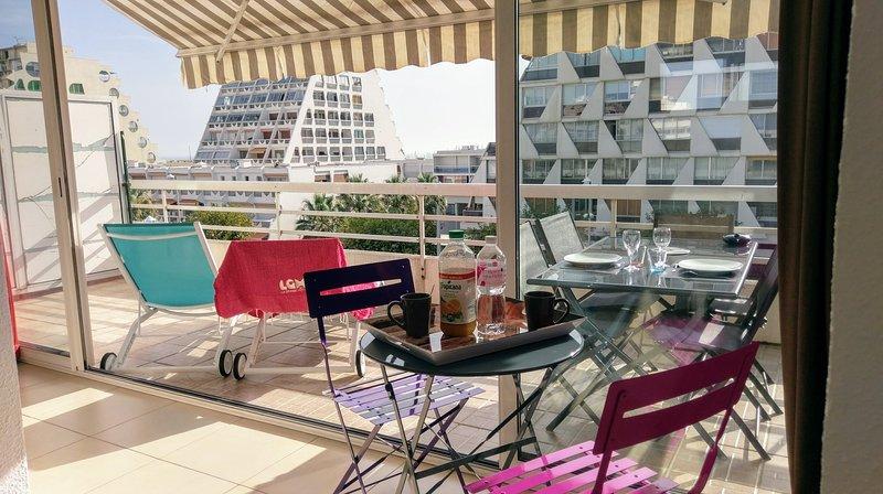 La terrasse de 15 m2