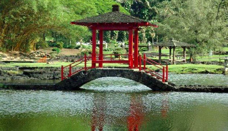Japanese Gardens in Hilo. Sehr schön und Coconut Island ist in der Nähe.