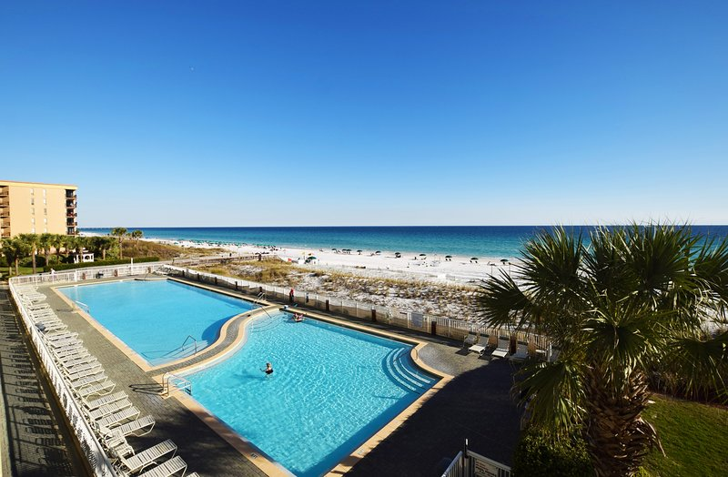 Balcony View -  Waters Edge Resort, Okaloosa Island, Fort Walton Beach Vacation Rentals