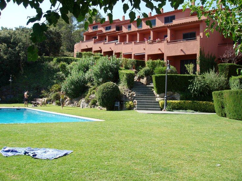 jardín y piscina comunitaria - Sa Punta COSTA BRAVA