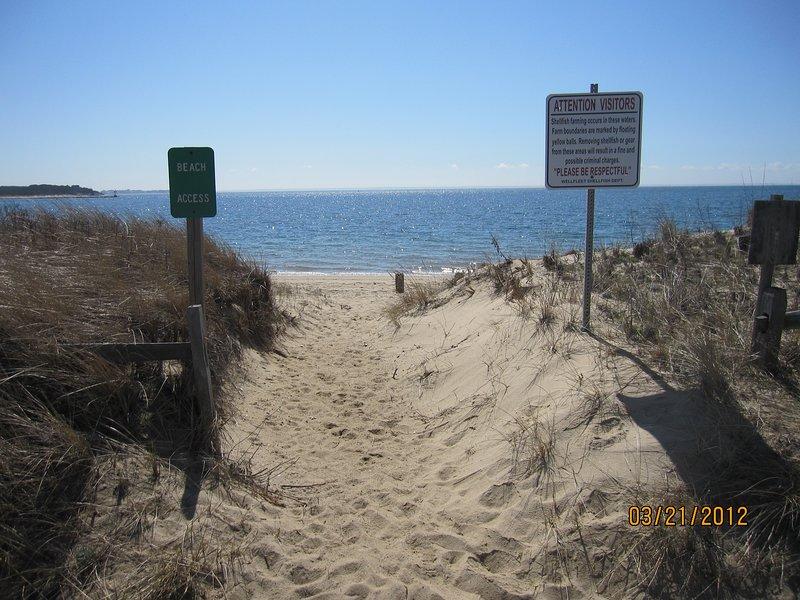 20 Steps to the beach