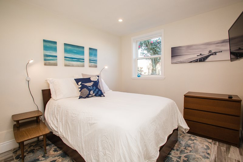 Completely remodeled, modern 2-bedroom 2-bathroom in-law unit with new everything!