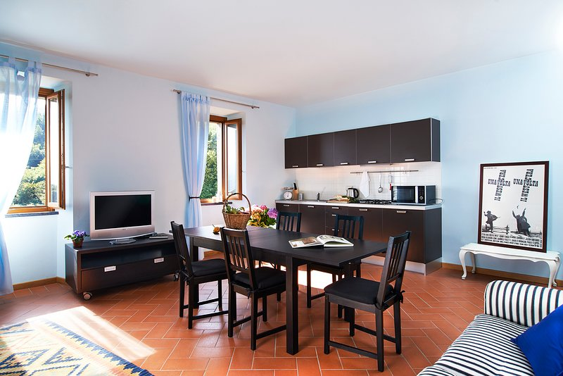 Blue Apartment - Beautiful apartment in dreamy and relaxing property, holiday rental in Montelungo