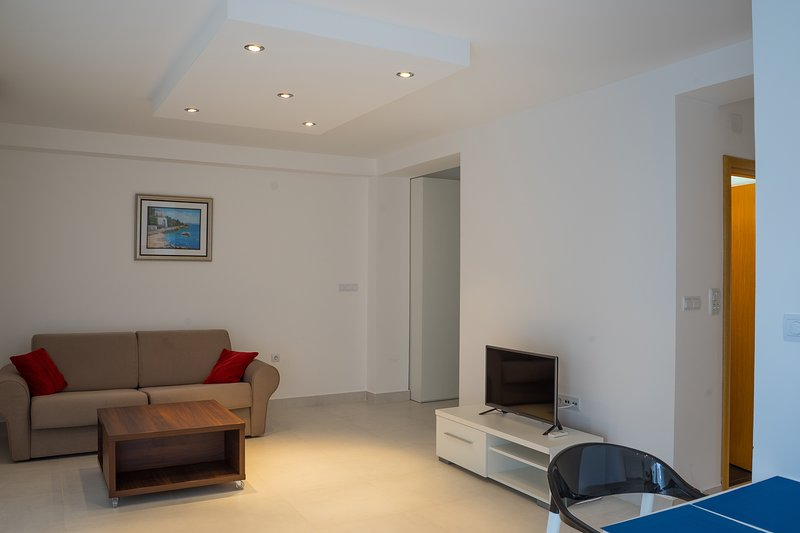 Blue Coral Apartment Becici Has Cable/satellite TV and ...
