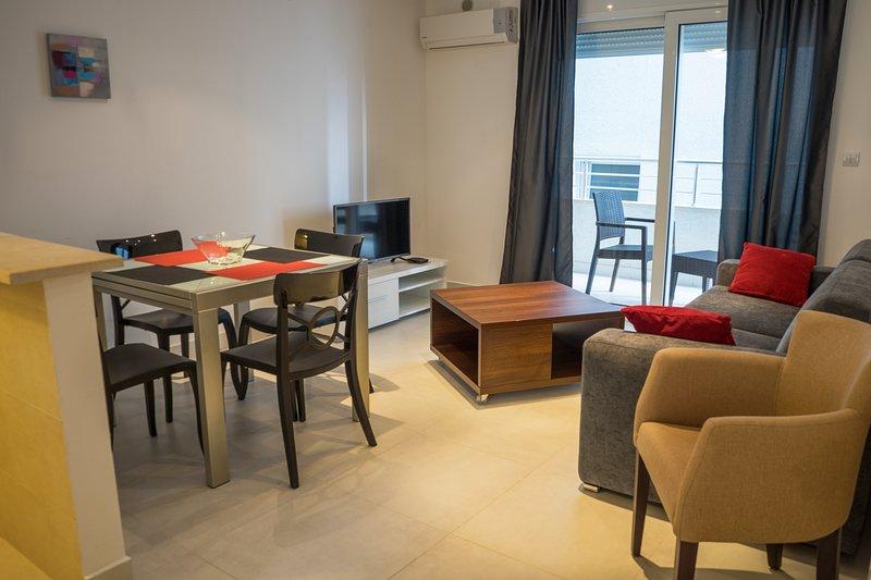 Blue Adriatic Apartment Becici, holiday rental in Becici