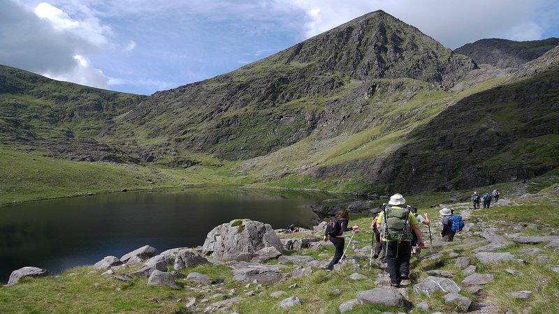 Montaña más alta de Irlanda Carrauntoohil-