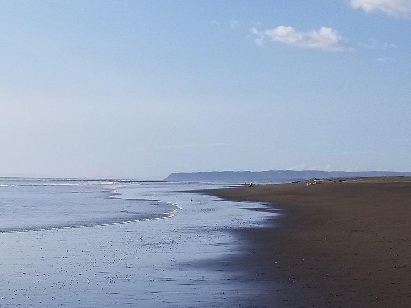 Praia caminhada de cinco minnute