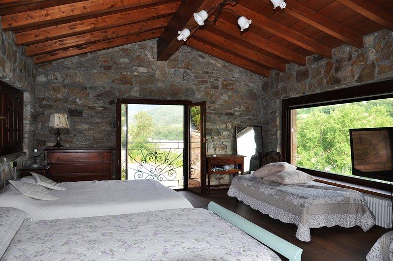 Appartamento indipendente rustico ristrutturato Agriturismo Il Salice, casa vacanza a Torrechiara