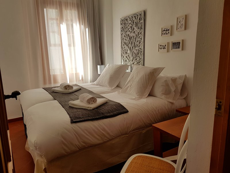small room with two beds prepared 90