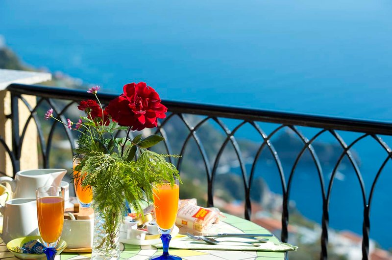 Amazing view on the Amalfi Coast !!