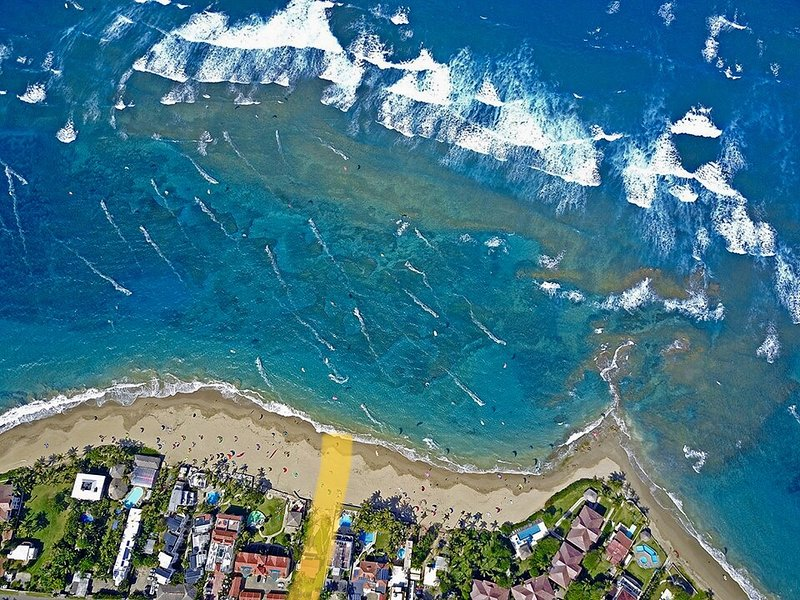 This is an Authentic Beach House on one of the most dynamic beaches...walk...paddle...kite