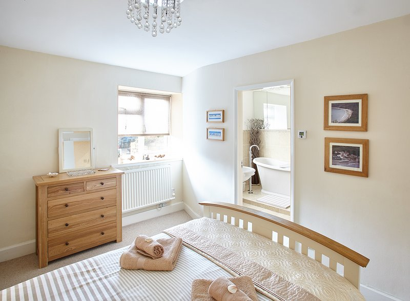 Master Bedroom with ensuite at View Point. Port Mulgrave