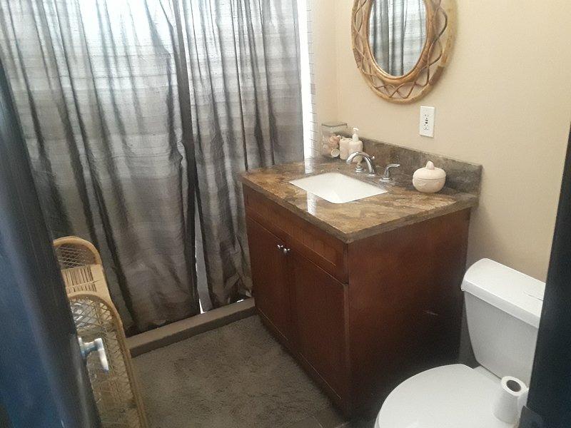 Guest Bath, Granite countertop