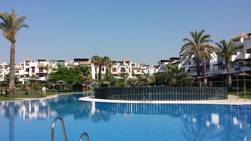 Vera Playa-Almería. 1ª Linea de Playa- ' Los Jardines de Nuevo Vera ', alquiler vacacional en Playas de Vera