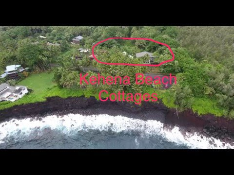 Oceanfront Cottage is one of 3 special oceanfront cottages at Kehena Beach