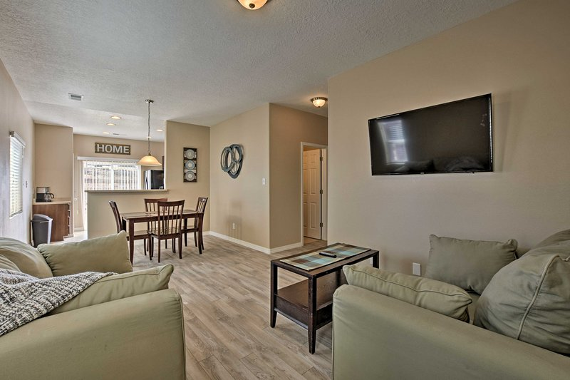 Stay at this updated vacation rental home during your next Santa Fe sojourn.