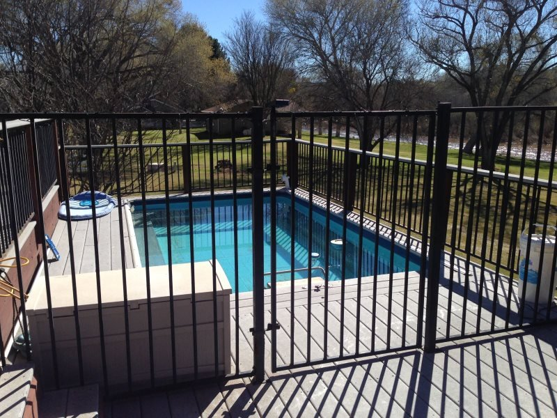 private gated pool
